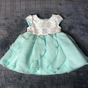 Toddler Mint Dress